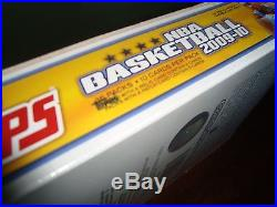 09-10 topps basketball unopened factory sealed hobby box SUPER HOT BOX Curry Rc