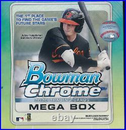 (1) 2020 Bowman Chrome Baseball Mega Box Exclusive Brand New Sealed Quantity