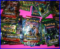 130 pack Sealed Pokemon Fates Collide break through box Trading Cards XY