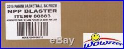 16/17 Panini Prizm Basketball Factory Sealed 20 Box Blaster CASE-20 AUTOGRAPH/GU