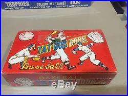 1960 Topps Transfers Full Sealed box