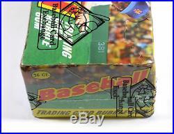 1975 Topps Mini Baseball Box 36 Packs BBCE Sealed