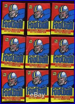 1978 TOPPS FOOTBALL WAX BOX IN CELLO BOX 30 SEALED PACKS EX/MT OR BETTER