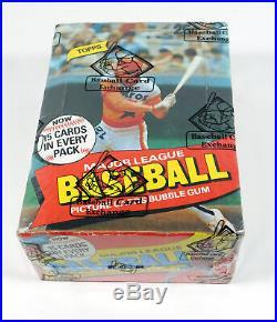 1980 Topps Baseball Box (36 Packs) BBCE Sealed Wrapped