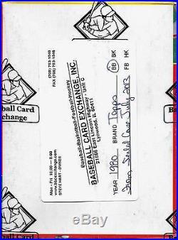 1980 Topps Baseball Wax Box BBCE FASC From Sealed Case (PSA 10 #482 Henderson)