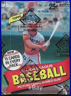 1980 Topps Baseball Wax Box Sealed and BBCE Authenticated 5968