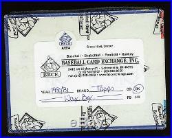 1980 Topps Basketball Unopened Sealed Wax Pack Box BBCE Bird Johnson RC