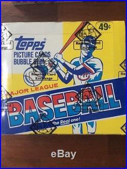 1981 1982 1983 Topps Baseball Cello Box LOT 3 X 24 Unopened Packs BBCE Sealed