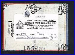 1981 Topps Football Unopened Wax Pack Box BBCE Sealed Joe Montana RC Year