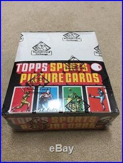 1981 Topps football BBCE sealed 24 rack pack box Joe Montana PSA 10 rookie card