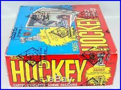 1984-85 O-pee-chee Opc Hockey Bbce Sealed Wax Box 48 Pk Yzerman Chelios Gilmour