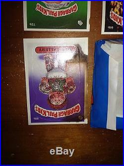 1985 Garbage Pail Kids 2nd Series 46 Sealed Packs 2 Open with Box Original Cards