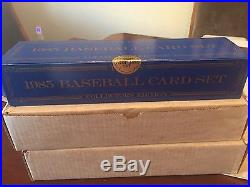 1985 TOPPS TIFFANY BASEBALL FACTORY SET UNOPENED SEALED MINT 792 CARDS WithBOX