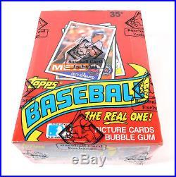 1985 Topps Baseball Box BBCE Sealed 36 Packs FASC From A Sealed Case