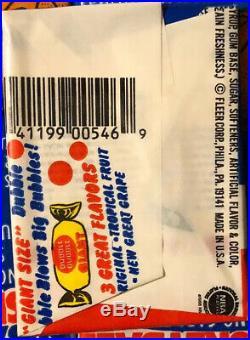 1986-87 Fleer Basketball Wax Pack Box Sealed Packs -Never Opened JORDAN ROOKIE