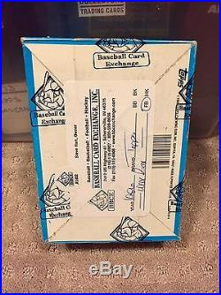 1986 Topps NFL Football Unopened Wax Pack Box 36 Packs Bbce Sealed