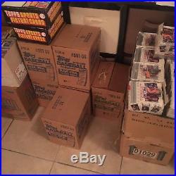 1986 Topps Baseball Rack Pack 3 Box Factory Sealed Unopened Case