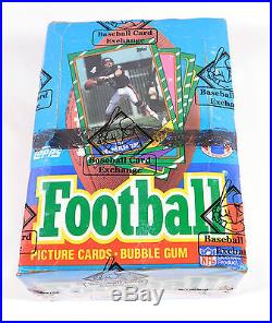 1986 Topps Football Box 36 Packs BBCE Wrapped Sealed