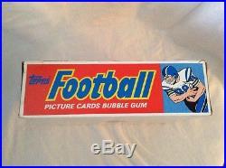 1986 Topps Football Box Sealed Cello Packs