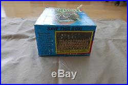 1986 Topps Football wax box 36 packs sealed unopened and rare no black out
