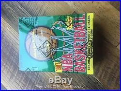 1987 Fleer Full Basketball Wax Box Jordan BBCE SEALED