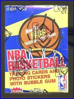 1988-89 Fleer Basketball Unopened Wax Pack Box SEALED