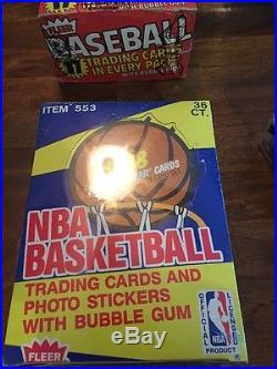 1988-89 Fleer Basketball Wax Box BBCE Sealed