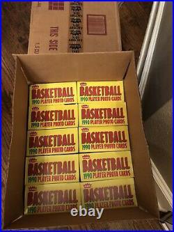 1990-91 Fleer Basketball Wax Box from a sealed Case! Michael Jordan 5th Year
