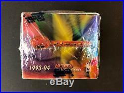 1993-94 Topps Finest Basketball Sealed Jumbo Box-PSA 10 Jordan Refractor