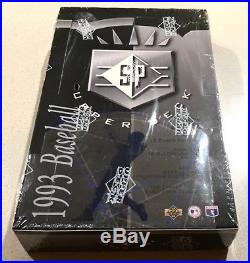 1993 SP Baseball Wax Box Factory Sealed