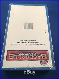 1993 Topps Finest Baseballs Finest Factory Sealed Box Rare