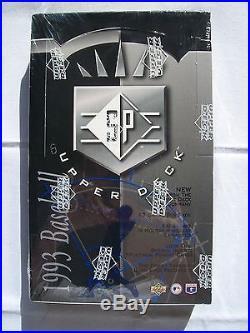 1993 Upper Deck UD SP Baseball Foil Box Factory Sealed! Derek Jeter Rookie