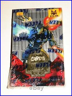 1994 Marvel Universe Series 5 War Machine Or Wolverine Sealed Unopened Card Box