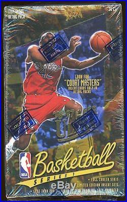 1996-97 Fleer Ultra Basketball Sealed Box Kobe Bryant RC YR Court Masters 36pks