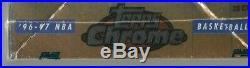 1996-97 Topps Chrome Basketball SEALED Hobby Box KOBE RC / IVERSON / ALLEN