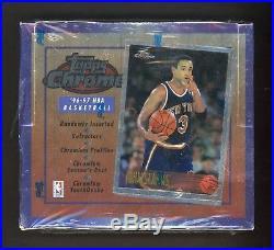 1996-97 Topps Chrome Basketball Sealed Unopened Box Kobe Bryant RC Rookie