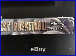 1996-97 Topps Finest Series 2 basketball box! Factory Sealed! Kobe Rc Jordan