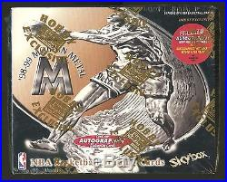 1998-99 Fleer Skybox Molten Metal Hobby Exclusive Box with 24 Packs SEALED