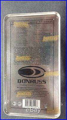 1998 DONRUSS PREFERRED SEALED 24 GRIFFEY HOBBY TIN BOX PRECIOUS METALS 217/999