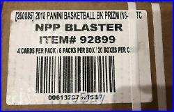 1x. 2018-19 Panini Prizm Basketball Blaster Box Case. 20 Factory Sealed Box