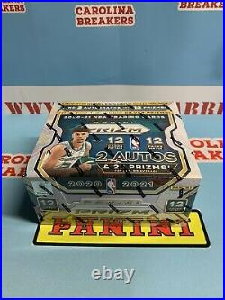 20-21 Panini Prizm Basketball Hobby Jumbo Factory Sealed In Hand Ships Free Now