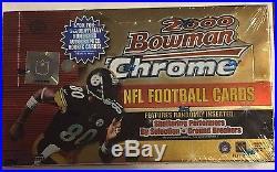 2000 Bowman Chrome Football Box Tom Brady Rookie Sealed