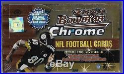 2000 Bowman Chrome Football Sealed Hobby Box Tom Brady