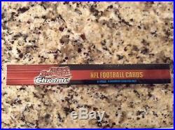 2000 Bowman Chrome NFL Football Hobby Box Tom Brady Rookie SEALED