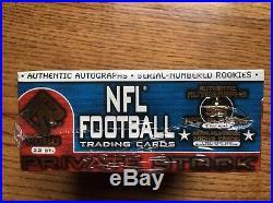 2000 Pacific Private Stock HOBBY Box! Sealed! Tom Brady RC