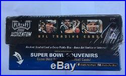 2000 Playoff Momentum Factory Sealed Football Box Tom Brady RC