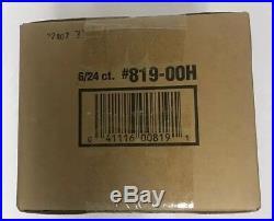 2000 Topps Chrome Football Factory Sealed Hobby Case 6 Box