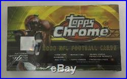2000 Topps Chrome Football Hobby Box Factory Sealed
