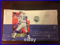 2000 Upper Deck SP Authentic Factory Sealed Box Possible Tom Brady Rookie Card