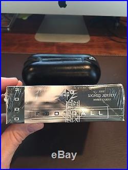 2000 Upper Deck SPX Sealed Hobby Box! Tom Brady RC Johnny Unitas Auto Urlacher